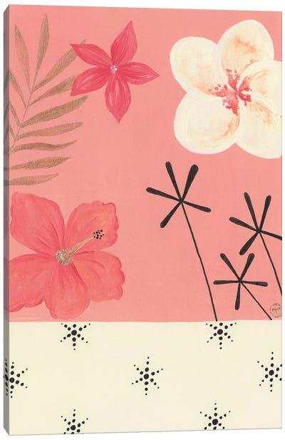 Pink Tropics Canvas Art Print