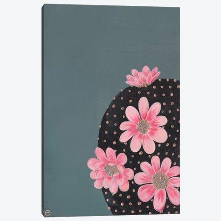 Round Cactus Paper Canvas Print #CTA59} by CreatingTaryn Canvas Print