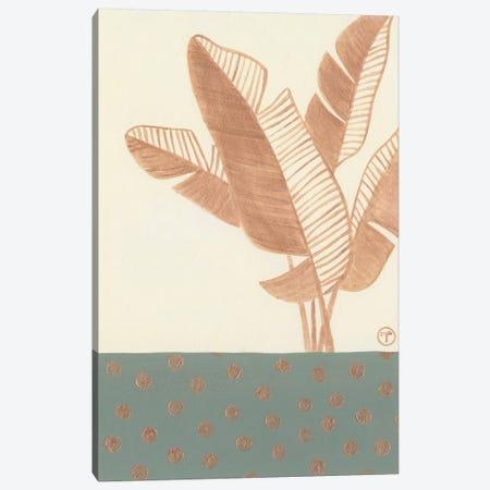 Single Bird Of Paradise Leaf Canvas Print #CTA61} by CreatingTaryn Canvas Wall Art
