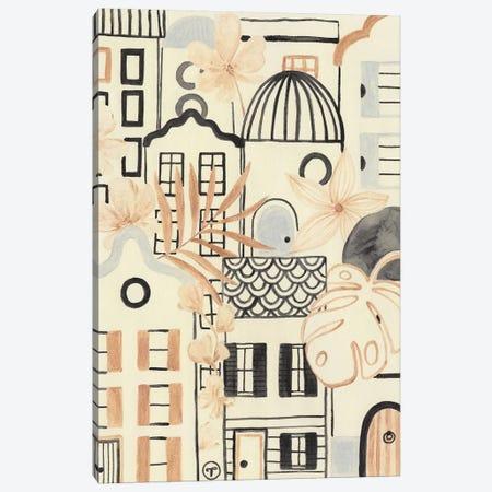 Town Life Canvas Print #CTA68} by CreatingTaryn Canvas Wall Art