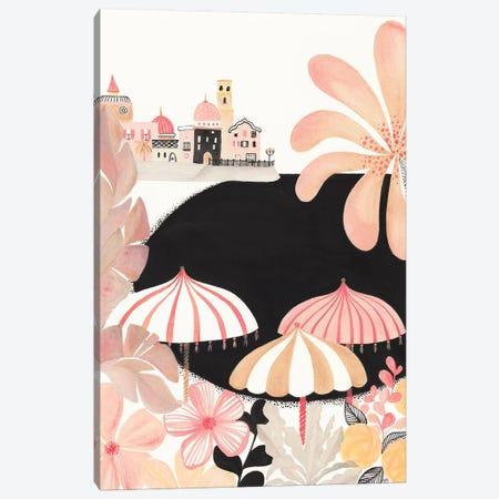 Almafi Coast Canvas Print #CTA6} by CreatingTaryn Canvas Art Print