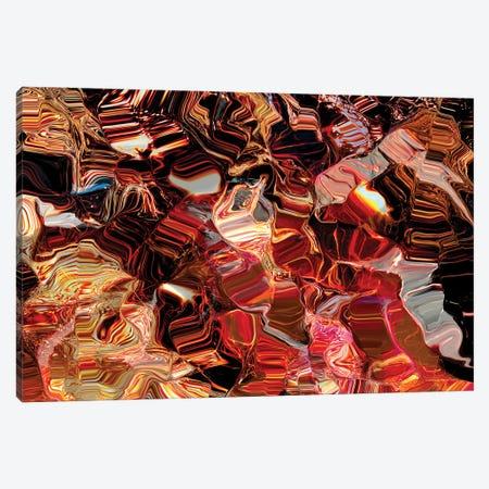 Fire On The Water Canvas Print #CTB11} by Christopher Brown Canvas Artwork