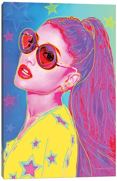 Pop Ariana Grande Canvas Art Print