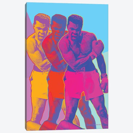 Pop Muhammad Canvas Print #CTB32} by Christopher Brown Canvas Artwork