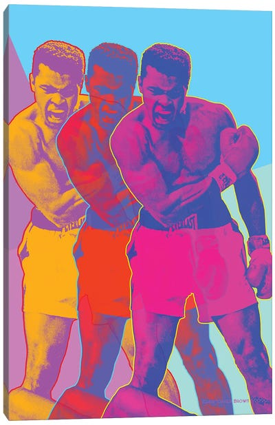 Pop Muhammad Canvas Art Print