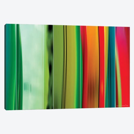 Surfboards Canvas Print #CTB38} by Christopher Brown Canvas Artwork
