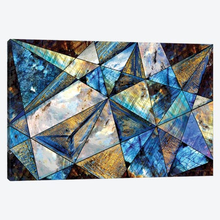 Triangles Canvas Print #CTB43} by Christopher Brown Canvas Art Print