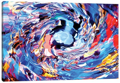 Color Vortex Canvas Art Print