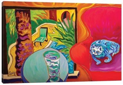 Picture Window Canvas Art Print