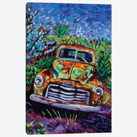 Resting Rust Canvas Print #CTC14} by Cathy Carey Canvas Art