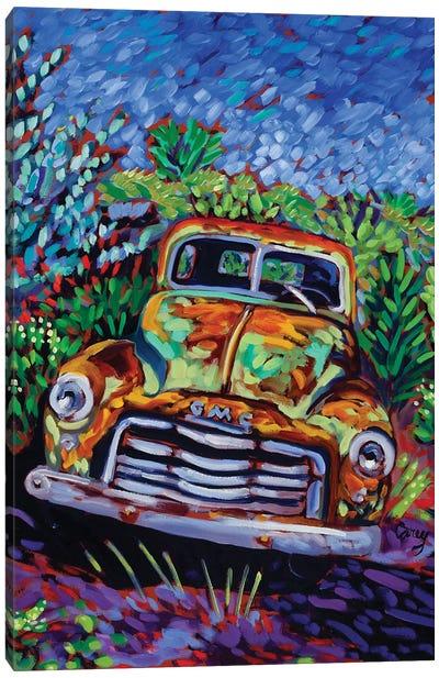 Resting Rust Canvas Art Print