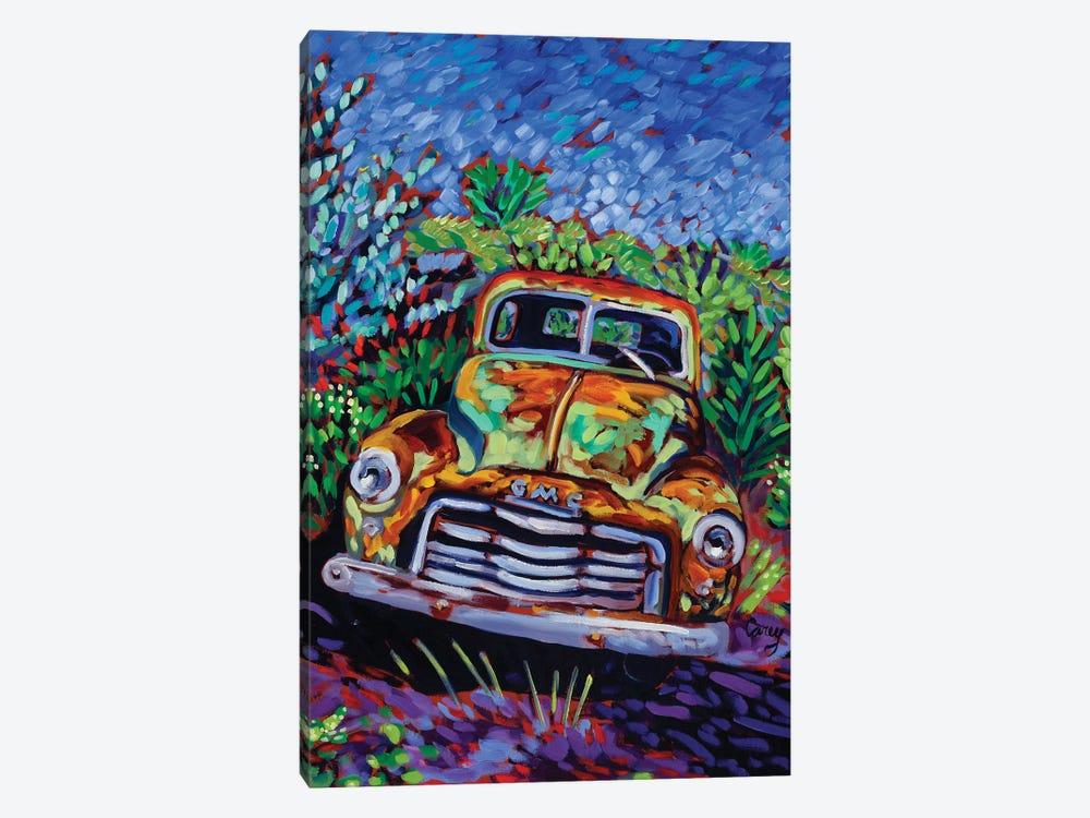 Resting Rust by Cathy Carey 1-piece Canvas Wall Art