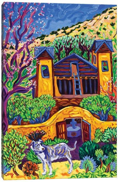 The Chimayo Greeter Canvas Art Print