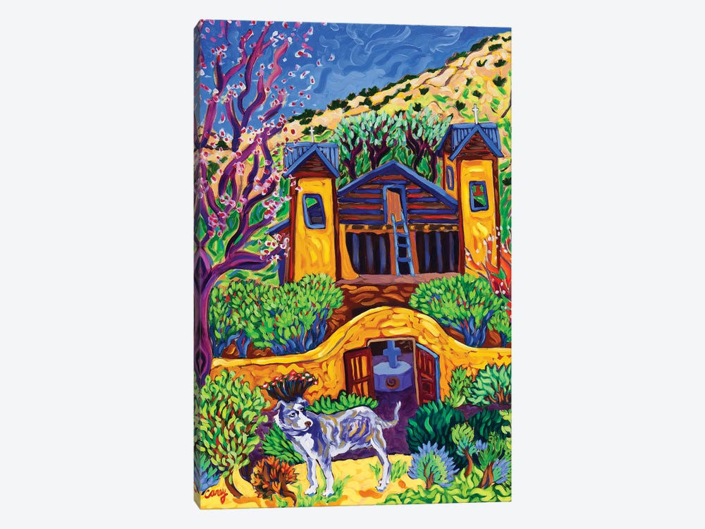 The Chimayo Greeter by Cathy Carey 1-piece Canvas Art