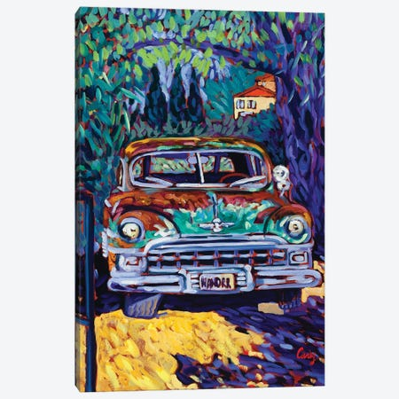 Wanderer Canvas Print #CTC20} by Cathy Carey Canvas Wall Art