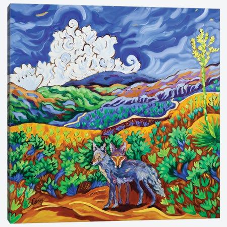 Canine Companions Canvas Print #CTC23} by Cathy Carey Canvas Artwork