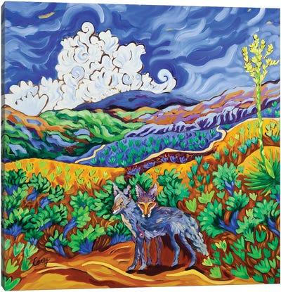 Canine Companions Canvas Art Print