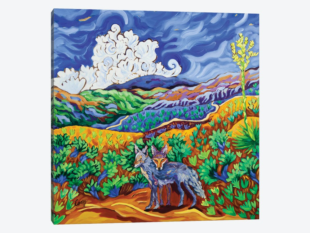 Canine Companions by Cathy Carey 1-piece Canvas Art