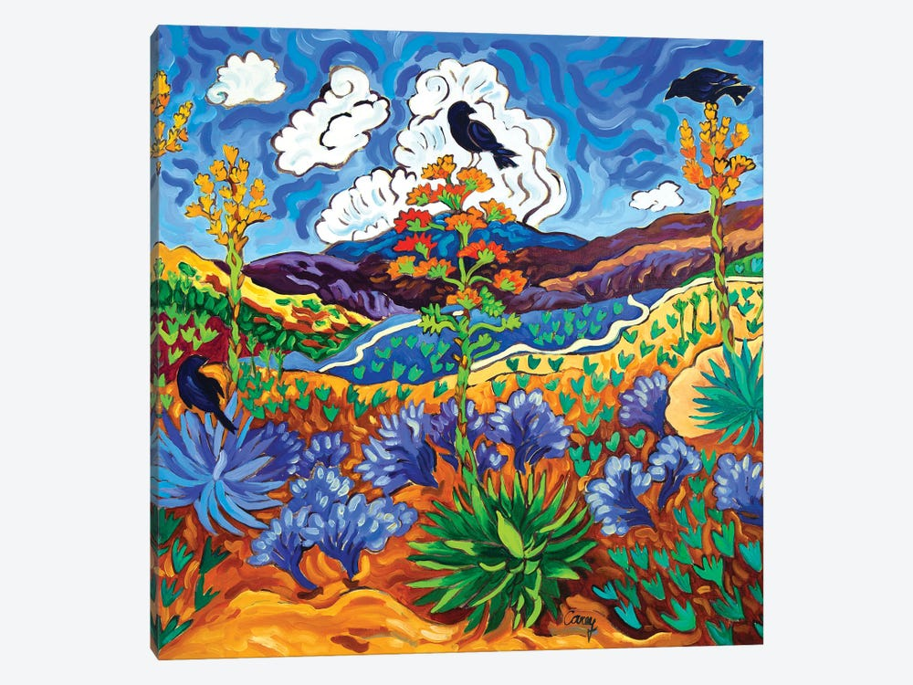 Canyon Consultation by Cathy Carey 1-piece Art Print