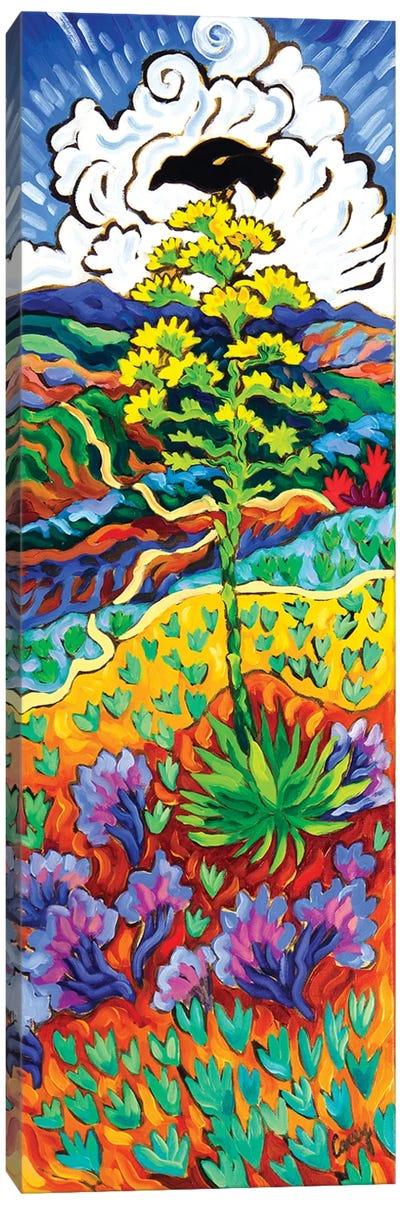 The Watcher Canvas Art Print