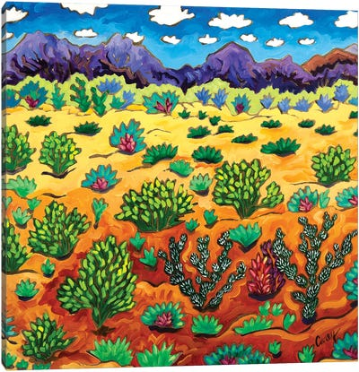 Western Destination Canvas Art Print