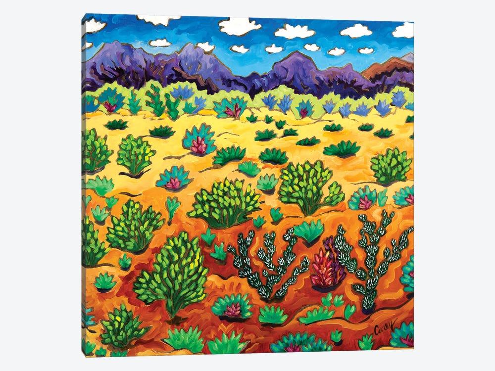 Western Destination by Cathy Carey 1-piece Canvas Art