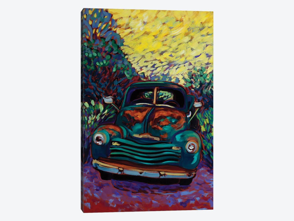 Good Morning Old Truck by Cathy Carey 1-piece Art Print
