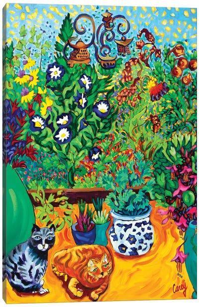 Los Gatos Garden Canvas Art Print