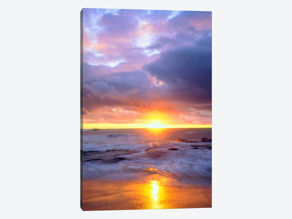 Majestic Sunset, Sunset Cliffs Natural Park, San Diego, California, USA by Christopher Talbot Frank 1-piece Canvas Art
