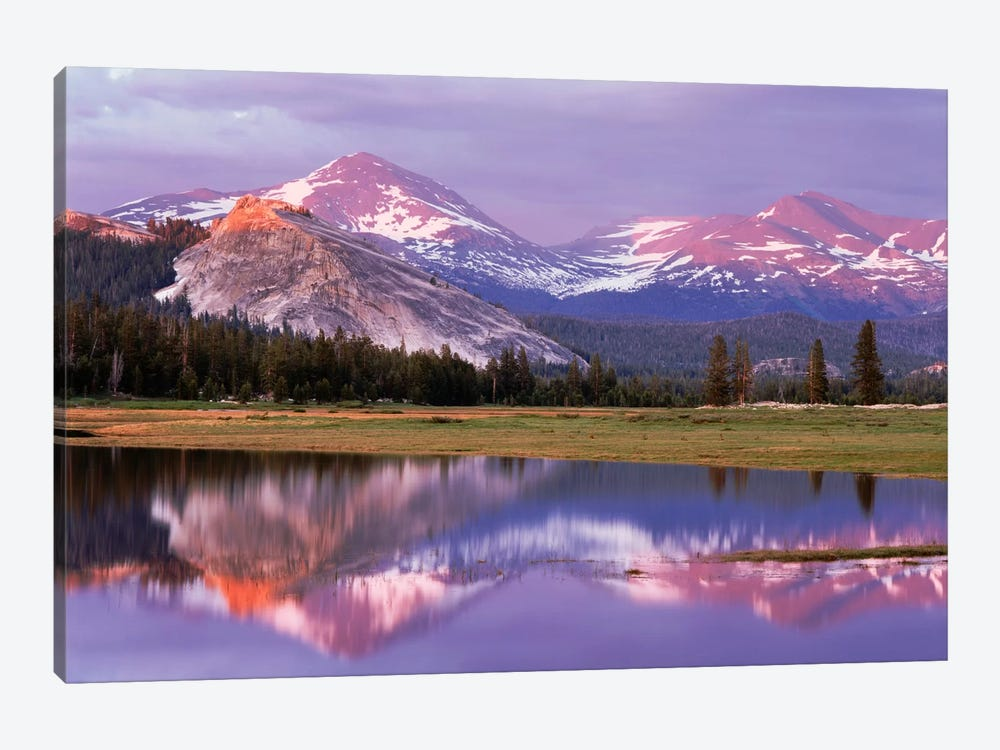 Lembert Dome And Its Reflection In The Tuolumne River, Yosemite National Park, California, USA by Christopher Talbot Frank 1-piece Canvas Art