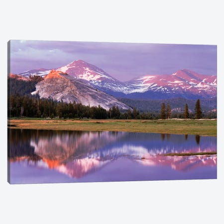 Lembert Dome And Its Reflection In The Tuolumne River, Yosemite National Park, California, USA Canvas Print #CTF1} by Christopher Talbot Frank Canvas Print