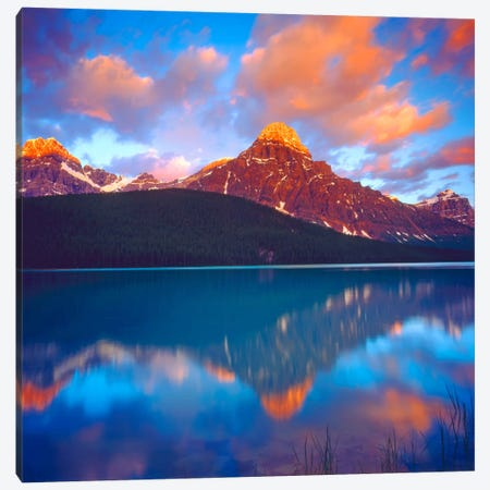 Sunrise, Banff National Park, Alberta, Canada Canvas Print #CTF2} by Christopher Talbot Frank Art Print