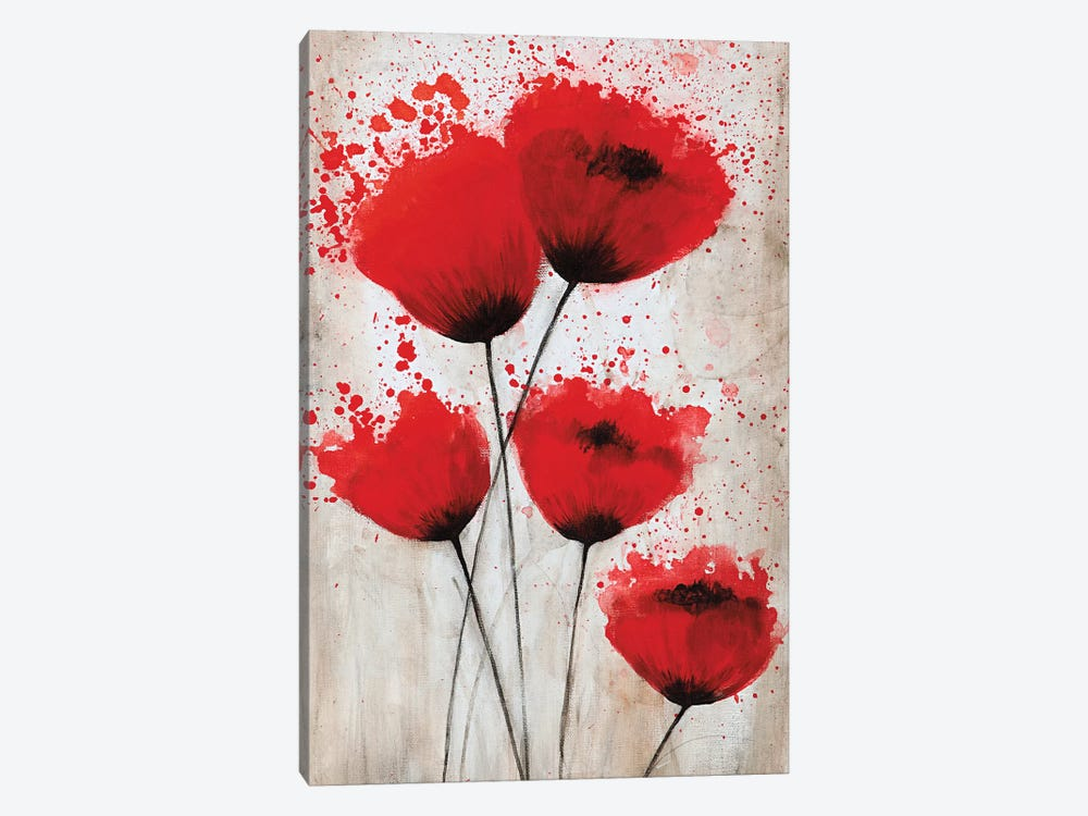 Luminous Crimson II by Catherine Brink 1-piece Art Print