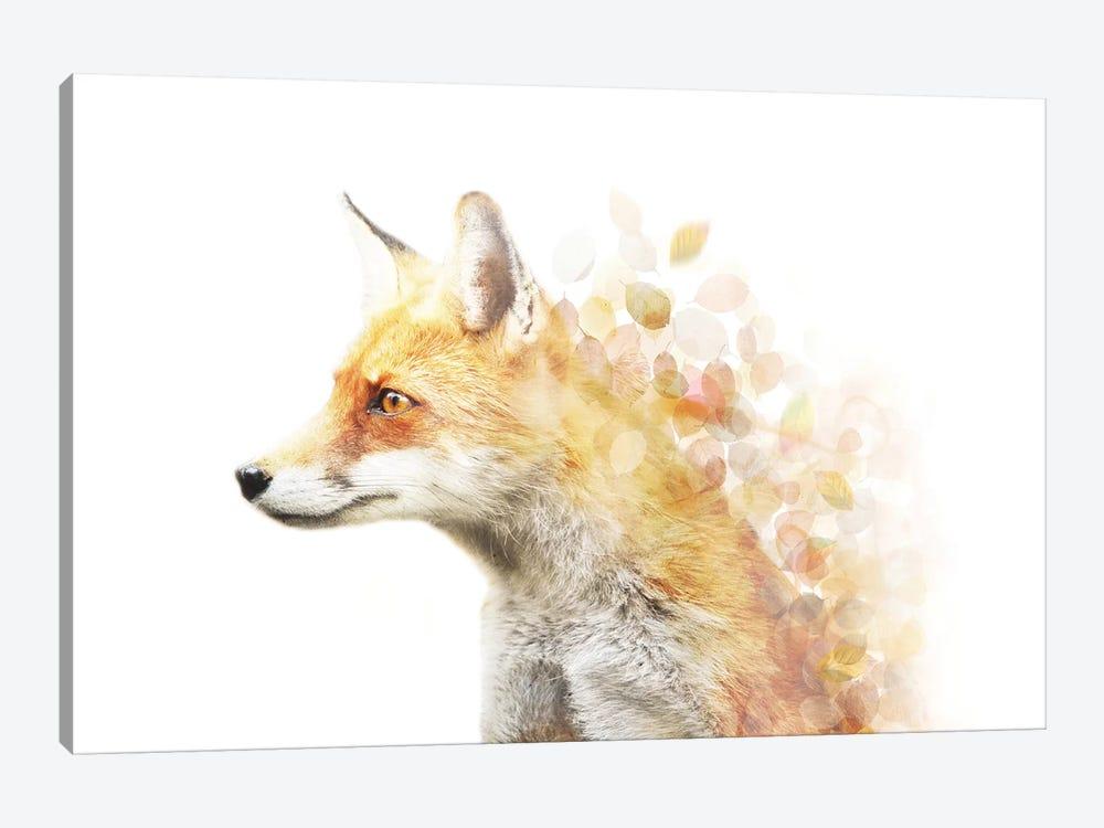 Winter Foxy by Emanuela Carratoni 1-piece Canvas Print