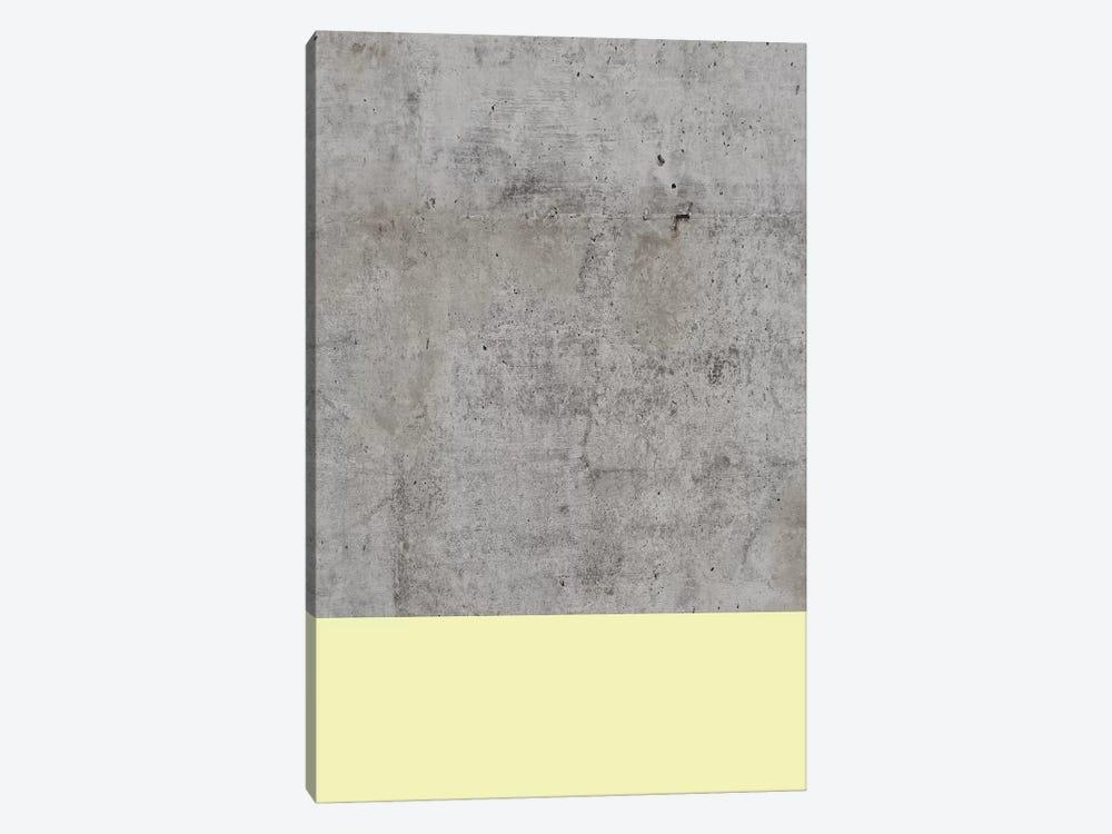 Yellow On Concrete by Emanuela Carratoni 1-piece Art Print