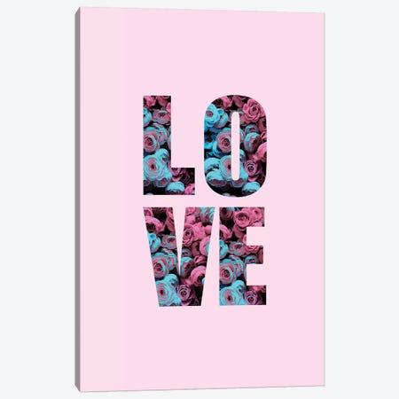 Floral Love Canvas Print #CTI106} by Emanuela Carratoni Canvas Print