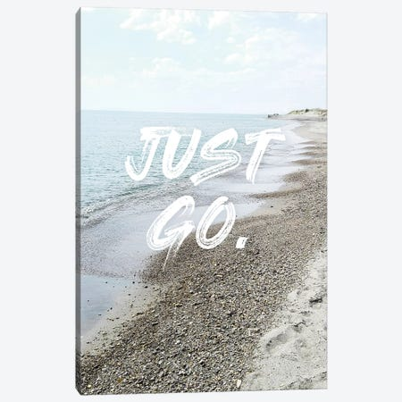 Just Go Canvas Print #CTI110} by Emanuela Carratoni Art Print