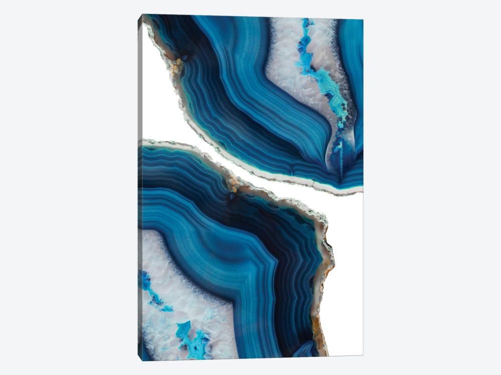 Blue Agate by Emanuela Carratoni 1-piece Canvas Print