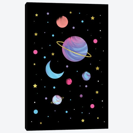 Great Universe Canvas Print #CTI124} by Emanuela Carratoni Canvas Art Print