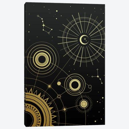Infinity 3-Piece Canvas #CTI126} by Emanuela Carratoni Art Print
