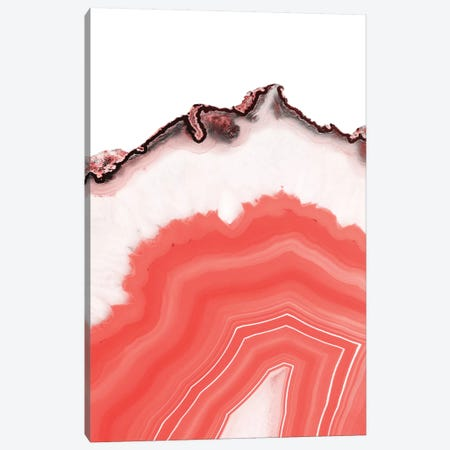 Living Coral Agate 3-Piece Canvas #CTI127} by Emanuela Carratoni Canvas Print