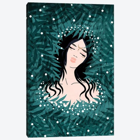 Lunar Witch Canvas Print #CTI128} by Emanuela Carratoni Canvas Wall Art