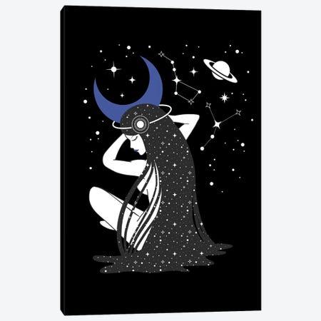 Moon Godness Canvas Print #CTI130} by Emanuela Carratoni Canvas Art Print