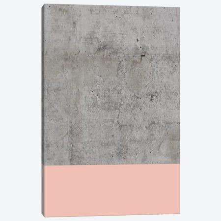 Blush On Concrete Canvas Print #CTI13} by Emanuela Carratoni Art Print