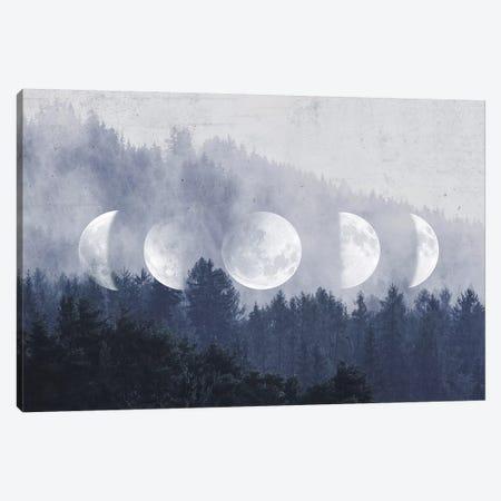 The Lost Moon 3-Piece Canvas #CTI140} by Emanuela Carratoni Canvas Artwork