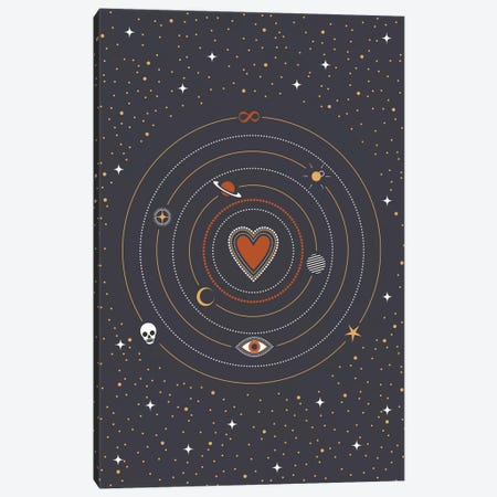 Charms Universe Canvas Print #CTI142} by Emanuela Carratoni Canvas Artwork