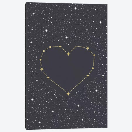 Heart Constellation Canvas Print #CTI144} by Emanuela Carratoni Art Print