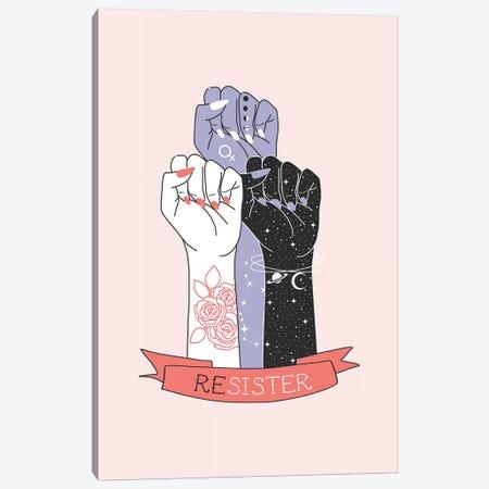 Resister Canvas Print #CTI158} by Emanuela Carratoni Art Print