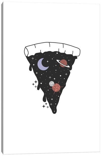 Space Pizza Canvas Art Print