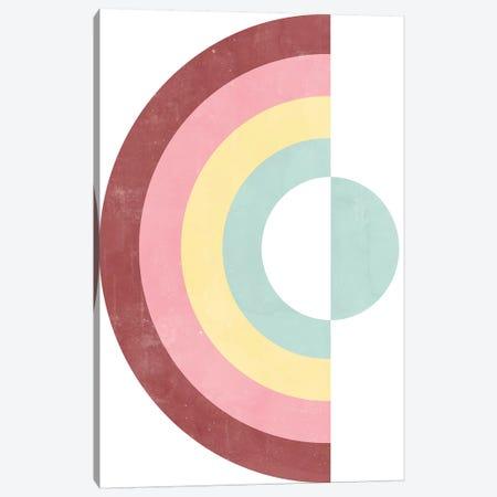 Circular Rainbow Canvas Print #CTI172} by Emanuela Carratoni Art Print